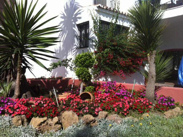 حديقة منخفضة في Puerto Banus