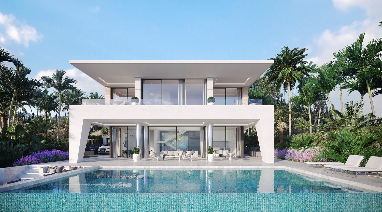 8个月后的新豪华住宅。预订 20, 000 欧元, 并支付每月资金。