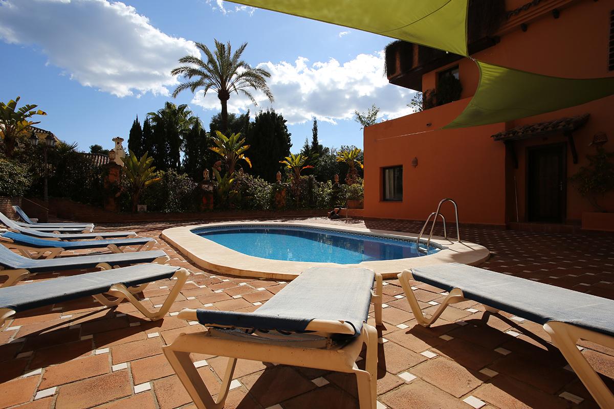 Vistas al mar, 2 dormitorios. AGH Hotel, Estepona