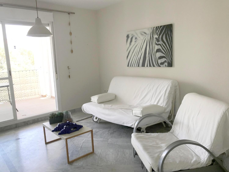 A pasos de la playa, Puerto Banus. Apartamento de 1 dormitorio