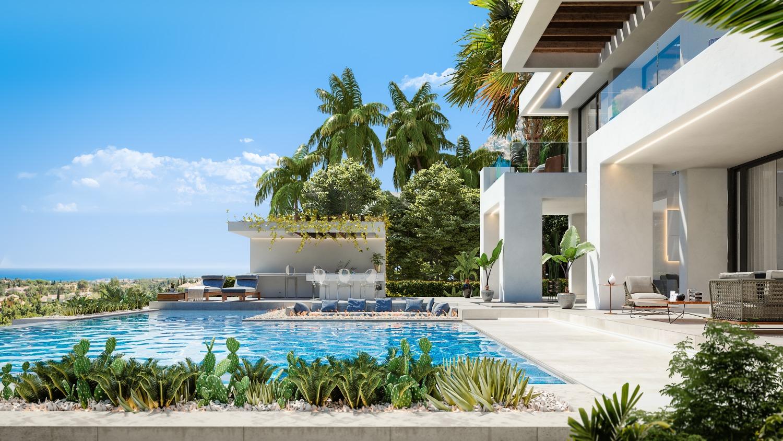 Estepona! First line Golf 8 Spectacular Luxury Villas! Basement included!