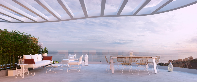 Fabelagtig udsigt over havet. Priser fra 356.000. Fuengirola.