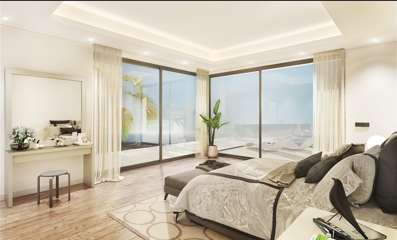 Magnifique maison avec vue panoramique sur la mer.