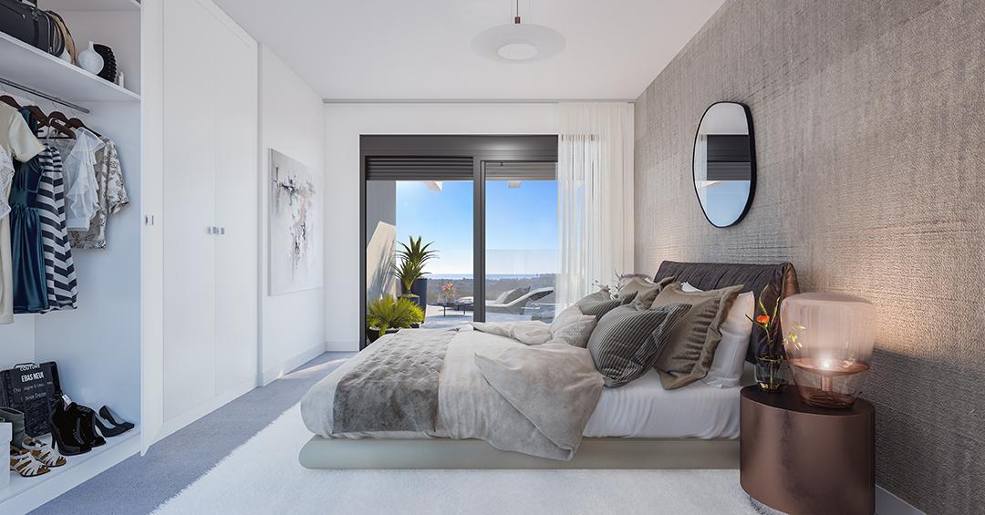 Kaksi makuuhuonetta alkaen 253.650 € Upea merinäköala. Näytä tasainen tulossa pian!
