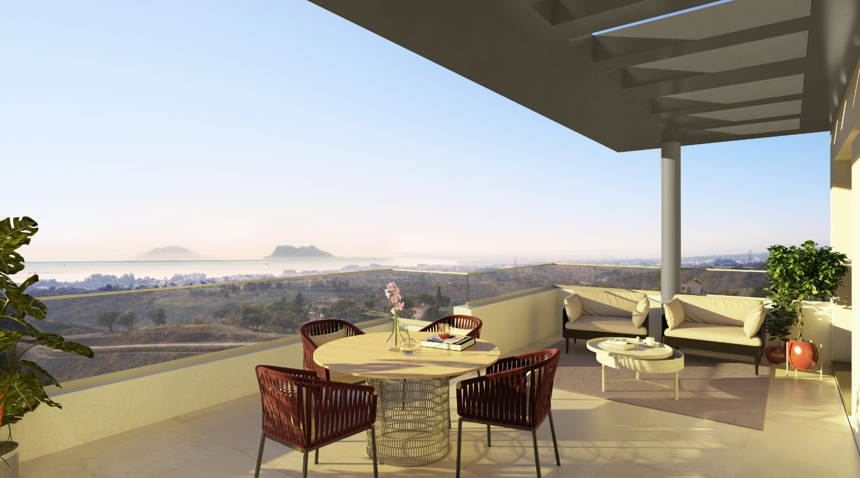 Цены от 297 300 евро. Красивый жилой комплекс с 187 домами 1, 2, 3 и 4 спальни. Эстепона